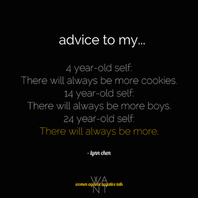advice-to-self