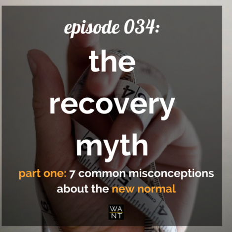 WANTcast 034: The Recovery Myth Part One – 7 Common Misconceptions About The New Normal