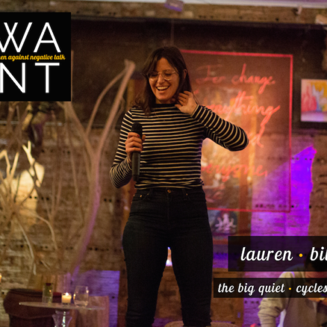 The WANT Woman: Lauren Bille of Cycles + Sex and The Big Quiet