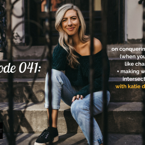 WANTcast 041: On Conquering Change (When You Don't Like Change) + Making Wellness Intersectional with Katie Dalebout