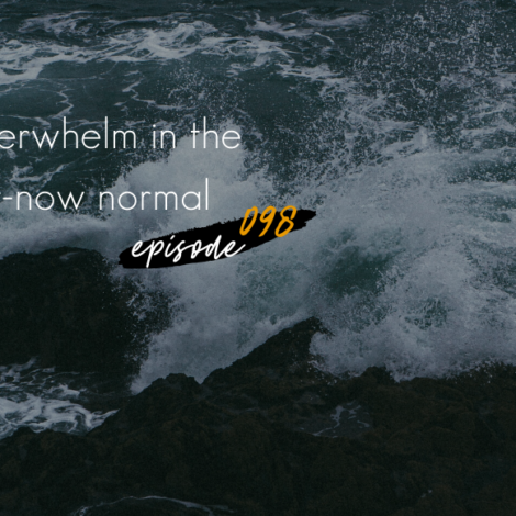 WANTcast 098: Overwhelm In The For-Now Normal