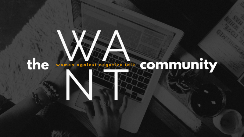 Introducing THE WANT COMMUNITY: A Membership To Make Shift Happen