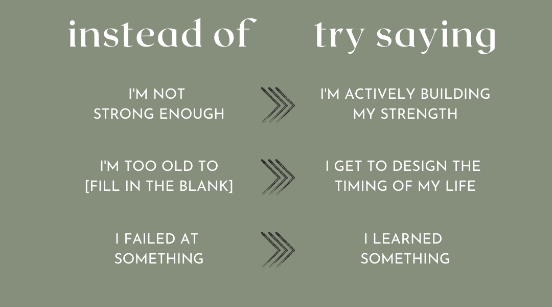 4 Negative Self-Talk Shifts To Try (That You'll Actually Believe)